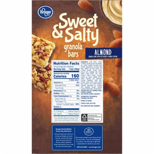 Kroger® Sweet & Salty Almond Granola Bars Perspective: left