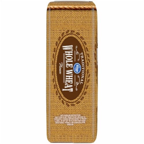 Kroger® Traditional Whole Wheat Flour Perspective: left
