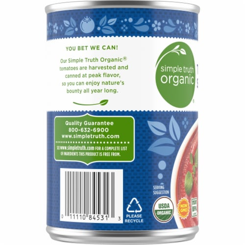 Simple Truth Organic® Tomato Sauce Perspective: left