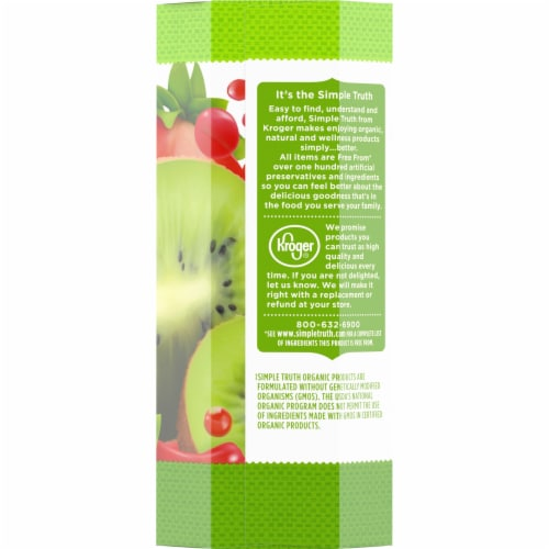Simple Truth Organic™ Ki-Whee Strawberry Flavored Juice Pouches Perspective: left