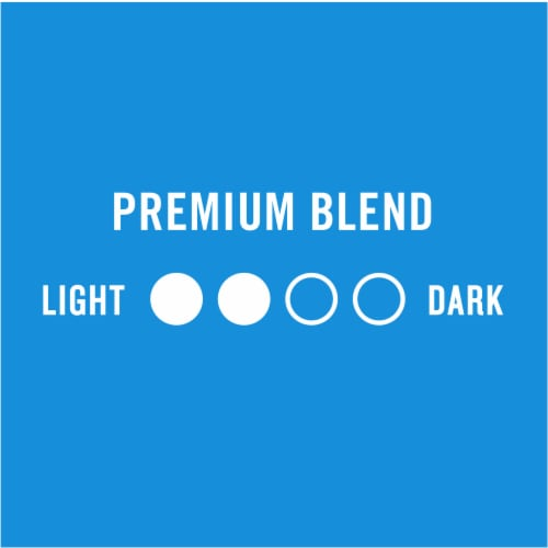 Kroger® Medium Roast Premium Blend Coffee K-Cup Pods Perspective: left