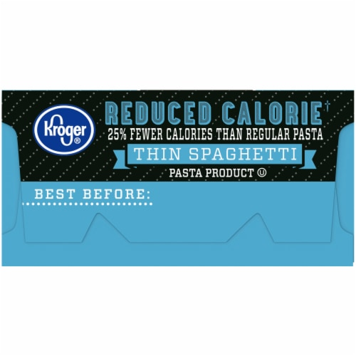 Kroger® Reduced Calorie Thin Spaghetti Perspective: left