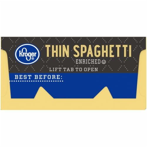 Kroger® Thin Spaghetti Perspective: left