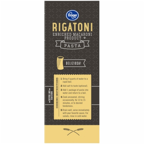 Kroger® Rigatoni Pasta Perspective: left