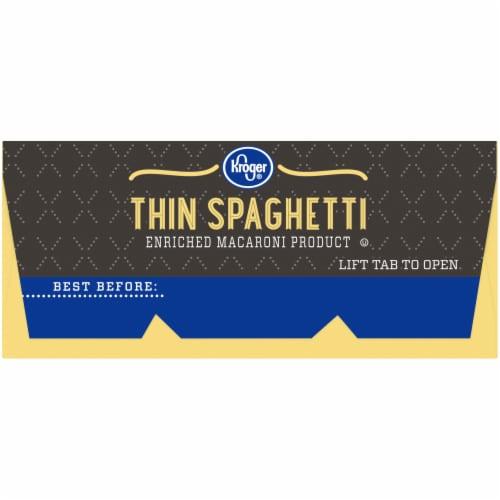 Kroger® Thin Spaghetti Perspective: left