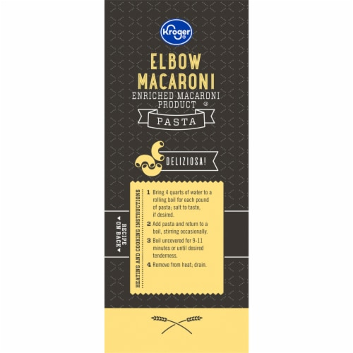 Kroger® Elbow Macaroni Pasta Perspective: left