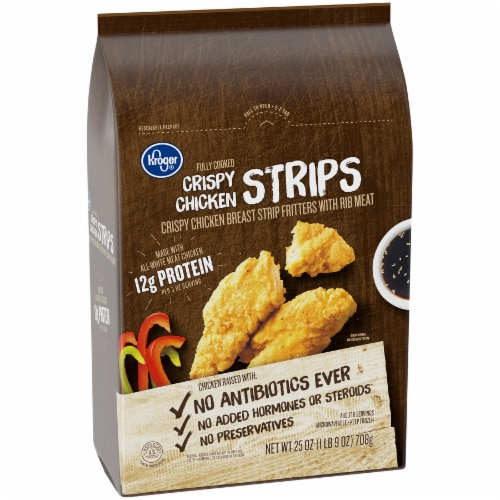 Kroger® Crispy Chicken Strips Perspective: left