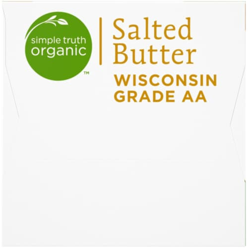 Simple Truth Organic™ Salted Butter Perspective: left