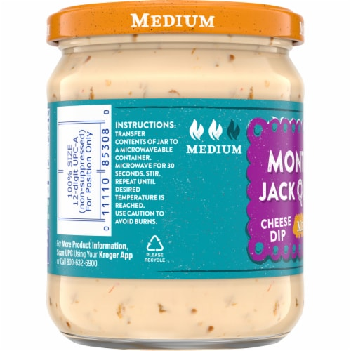 Kroger® Medium Monterey Jack Queso Cheese Dip Perspective: left