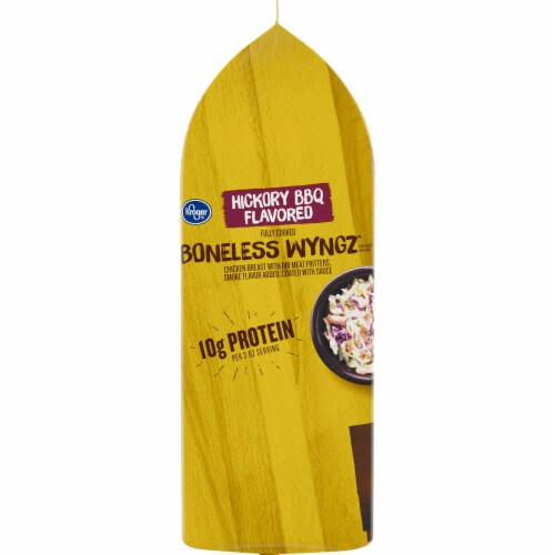 Kroger® Hickory BBQ Flavored Boneless Wyngz Perspective: left