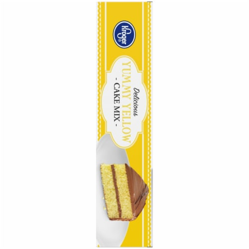 Kroger® Delicious Yummy Yellow Cake Mix Perspective: left