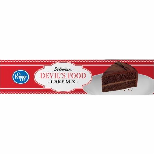Kroger® Delicious Devil's Food Cake Mix Perspective: left