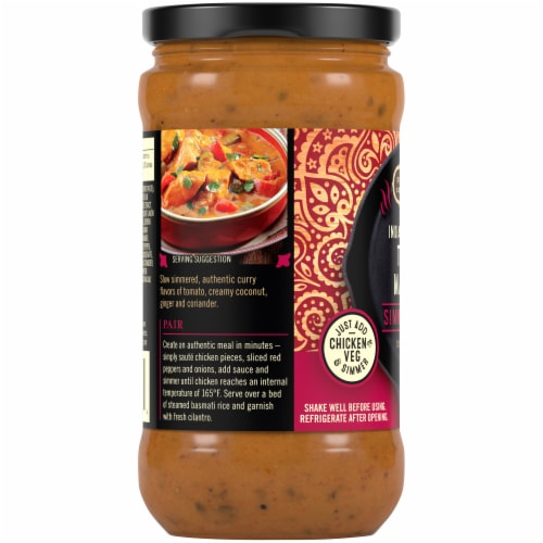 Private Selection® Indian Inspired Tikka Masala Simmer Sauce Perspective: left