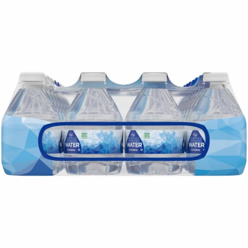 Kroger® Purified Drinking Water 32 Bottles Perspective: left