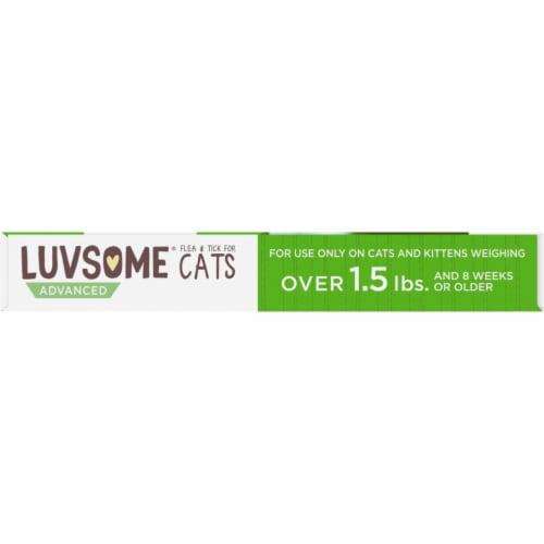 Luvsome® Advanced Flea & Tick Applicators for Cats Over 1.5 lbs Perspective: left