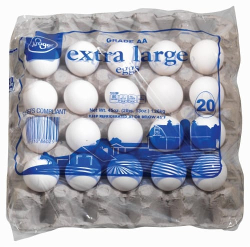 Kroger® Grade AA Extra Large Eggs Perspective: left