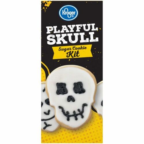 Kroger®  Playful Skull Sugar Cookie Kit Perspective: left