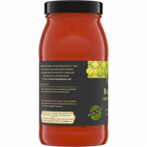 Private Selection® Basilico Tomato & Basil Sauce Perspective: left
