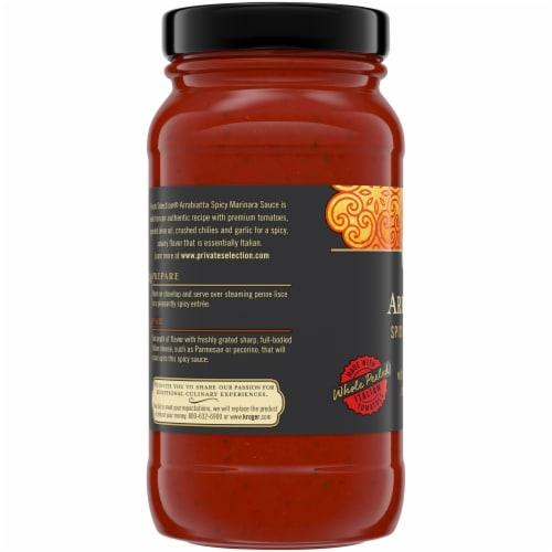 Private Selection® Arrabiatta Spicy Marinara Sauce Perspective: left