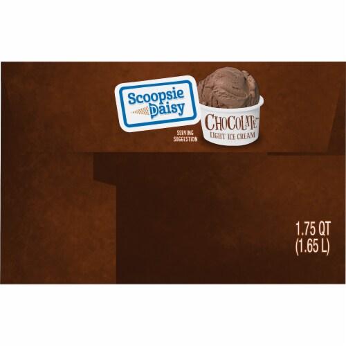 Scoopsie Daisy Chocolate Light Ice Cream Perspective: left