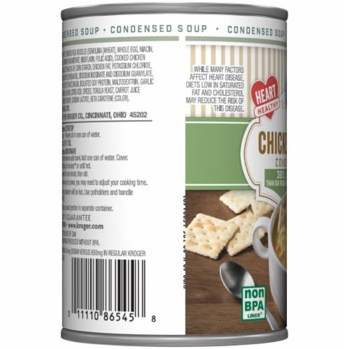 Kroger® Reduced Sodium Chicken Noodle Condensed Soup Perspective: left