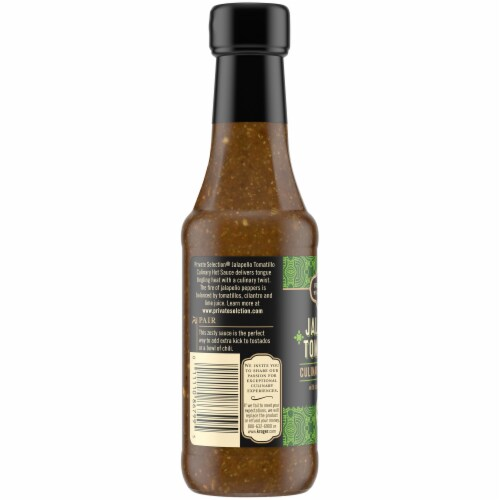 Private Selection® Jalapeno Tomatillo Hot Sauce Perspective: left