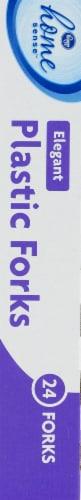 Kroger®  Elegant Plastic Forks Perspective: left