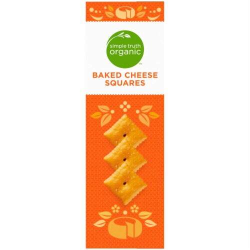 Simple Truth Organic™ Baked Cheese Squares Perspective: left