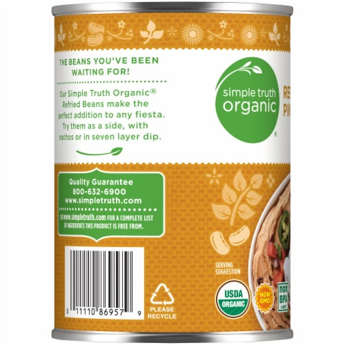 Simple Truth Organic® Refried Pinto Beans Perspective: left
