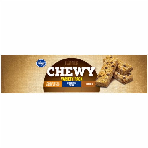 Kroger® Chewy Granola Bars Variety Pack Perspective: left