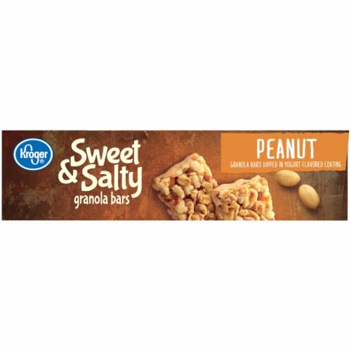 Kroger® Sweet & Salty Peanut Granola Bars Perspective: left
