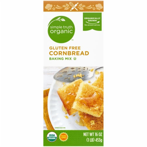 Simple Truth Organic™ Gluten Free Cornbread Baking Mix Perspective: left