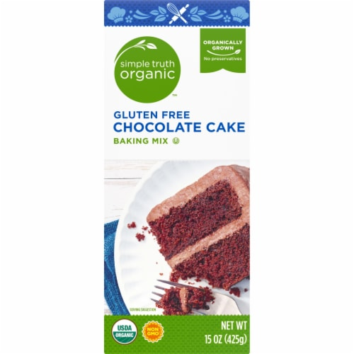Simple Truth Organic™ Gluten Free Chocolate Cake Baking Mix Perspective: left