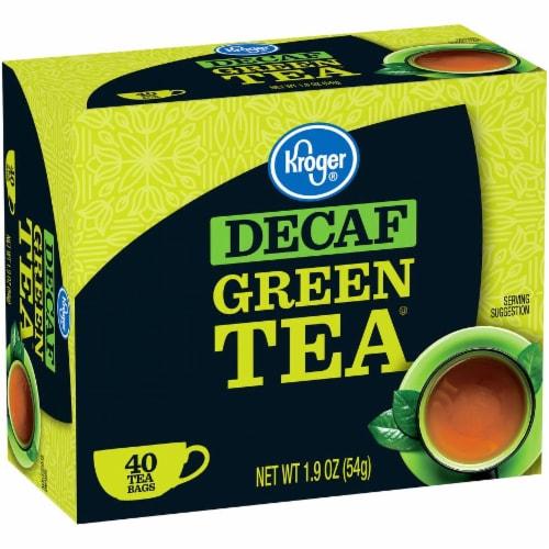 Kroger® Decaf Green Tea Bags Perspective: left