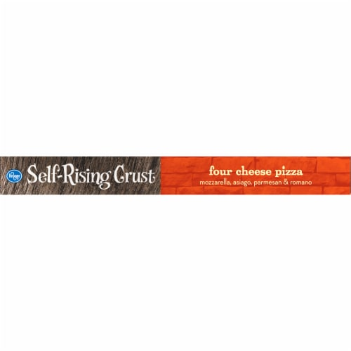 Kroger® Self Rising Crust Four Cheese Pizza Perspective: left
