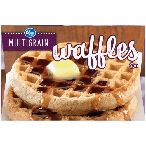 Kroger® Multigrain Waffles Perspective: left