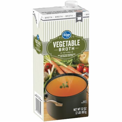 Kroger® Vegetable Broth Perspective: left