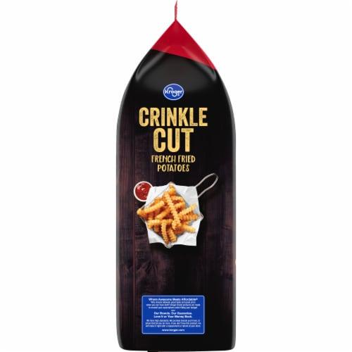 Kroger® Crinkle Cut French Fries Bag Perspective: left