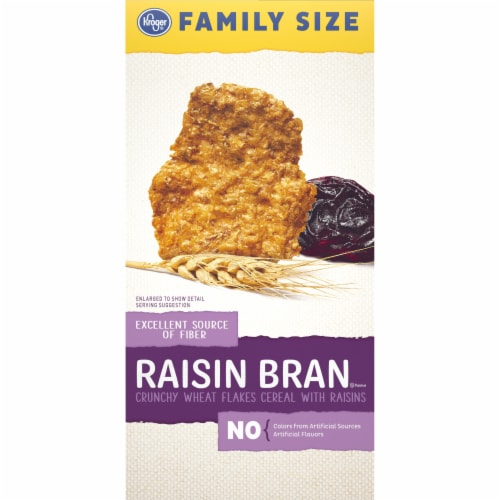 Kroger® Raisin Bran Crunchy Cereal Perspective: left