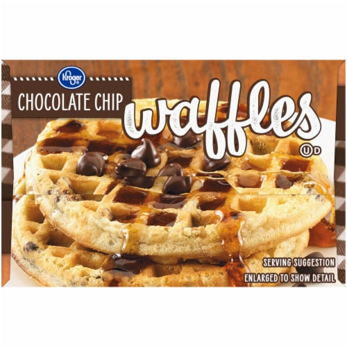 Kroger® Chocolate Chip Waffles Perspective: left
