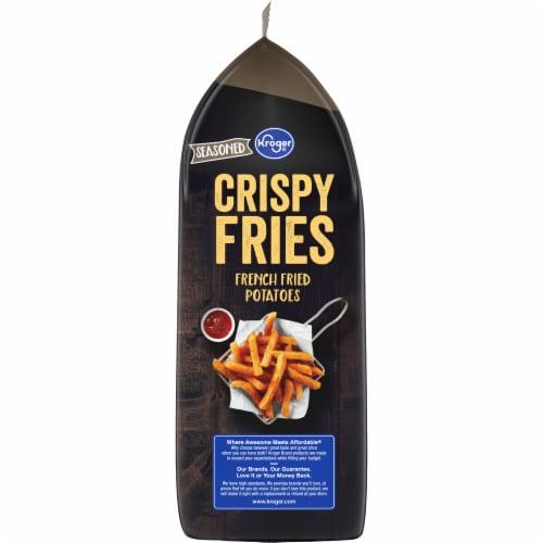 Kroger® Seasoned Crispy Fries Perspective: left