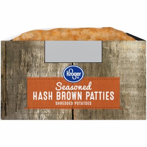 Kroger® Seasoned Hash Brown Patties 10 Count Perspective: left