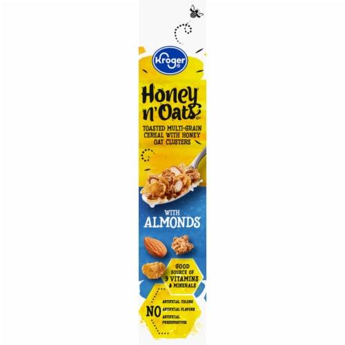 Kroger® Multi-Grain Honey Crisp Medley Toasted Flakes Cereal Perspective: left