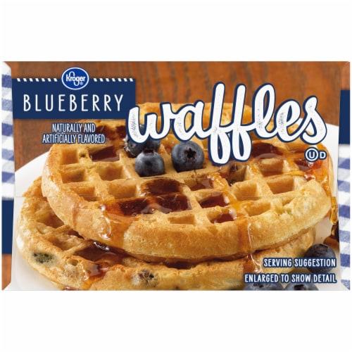 Kroger® Blueberry Waffles Perspective: left