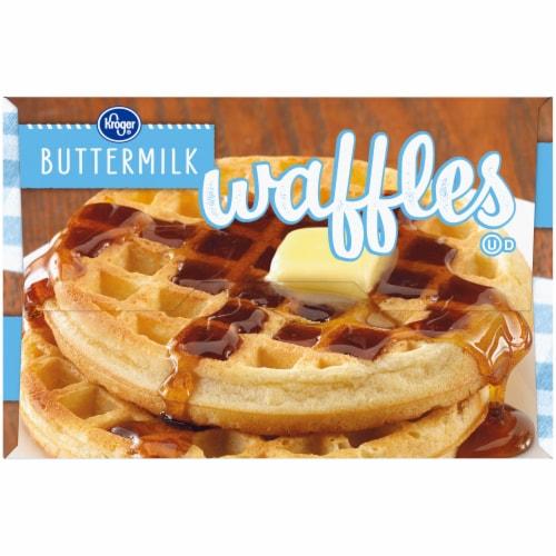Kroger® Buttermilk Waffles Perspective: left