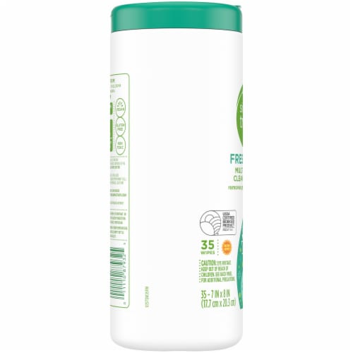 Simple Truth™ Fresh Mint Multi-Surface Cleaning Wipes Perspective: left