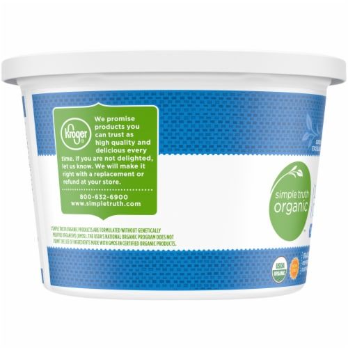 Simple Truth Organic™ 2% Milkfat Lowfat Small Curd Cottage Cheese Perspective: left