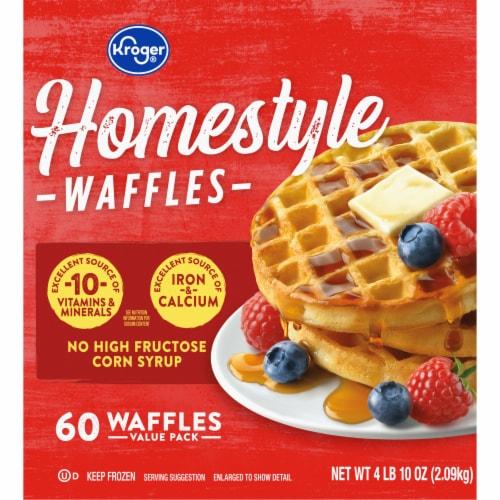 Kroger® Homestyle Waffles Perspective: left