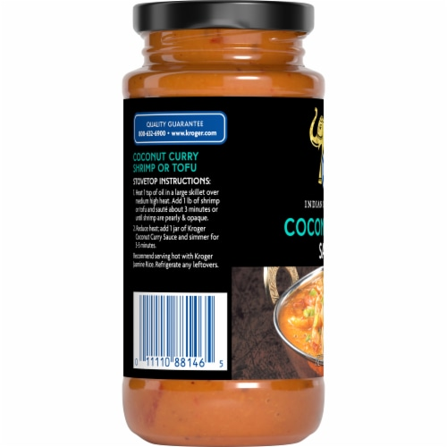 Kroger® Coconut Curry Sauce Perspective: left
