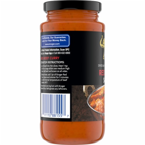Kroger® Red Curry Sauce Perspective: left